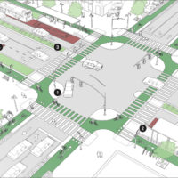 Major Intersection: Cycle Protection