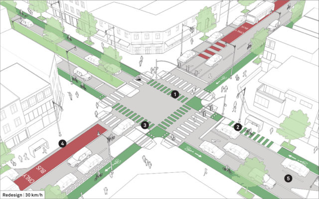 Intersection of Two-Way and One-Way Streets | Global ...One Way Street Intersection