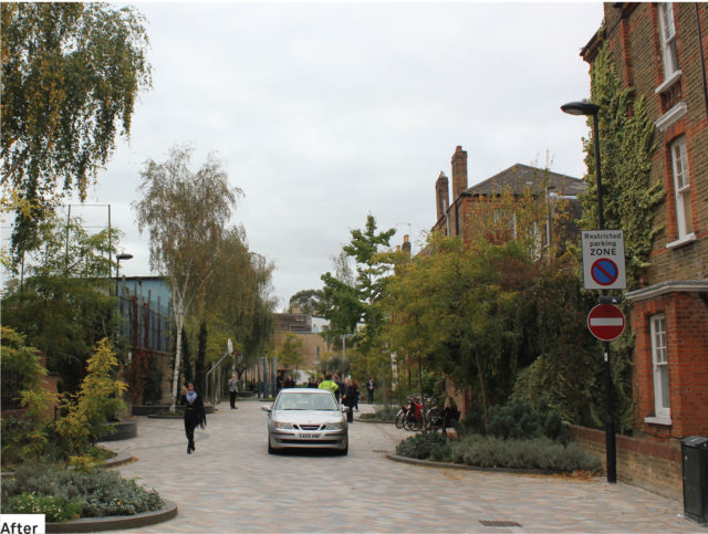 Residential Shared Streets