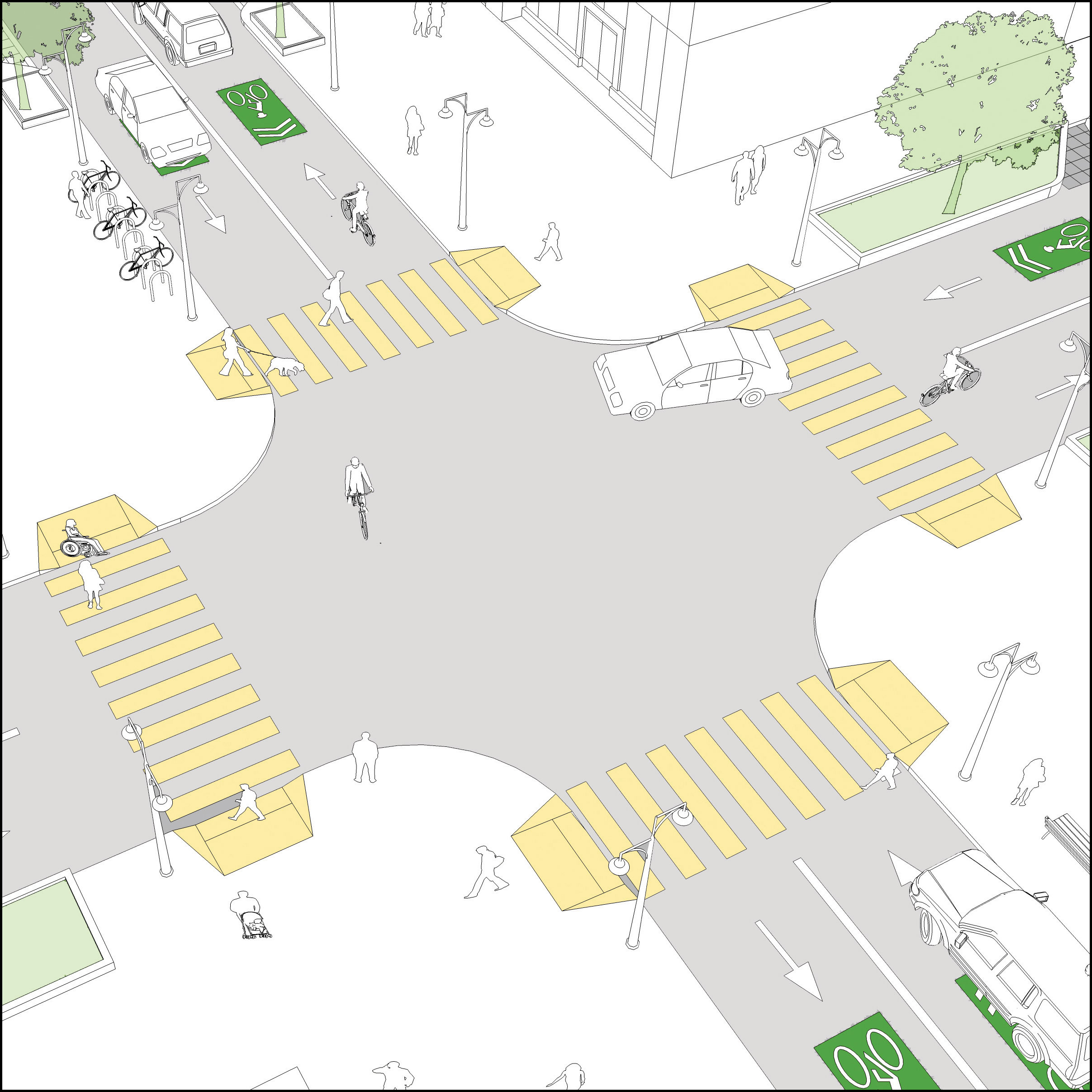 Crossing Types   Global Designing Cities Initiative